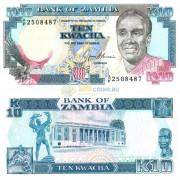 Замбия бона (031) 10 квача 1989-1991