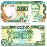 Замбия бона (032) 20 квача 1989-1991