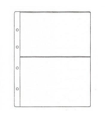 Лист для бон на 2 ячейки (формат Гранд), эконом