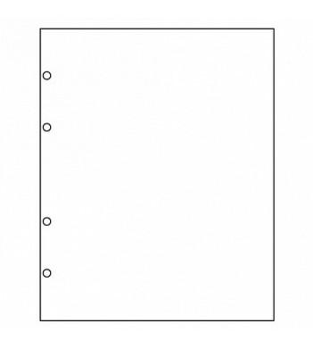Листы разделители формат Оптима белые