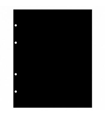 Листы разделители формат Оптима черные