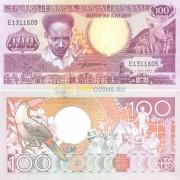 Суринам бона 100 гульденов 1986