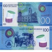 Никарагуа бона 100 кордоба 2015