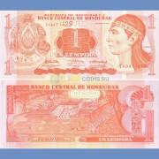 Гондурас бона 1 лемпира 2010 индеец