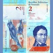 Венесуэла бона 2 боливара 2012