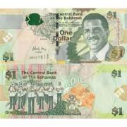 Багамские острова бона 1 доллар 2008