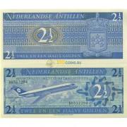 Нидерландские Антилы бона 2 1/2 гульдена 1970