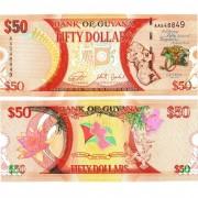Гайана бона (041) 50 долларов 2016