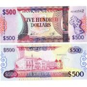 Гайана бона (037) 500 долларов 2011