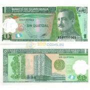 Гватемала бона 1 кетцаль 2012