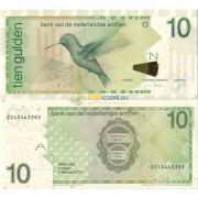 Нидерландские Антилы бона 10 гульденов 2014