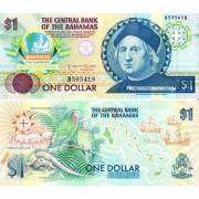 Багамские острова бона 1 доллар 1992
