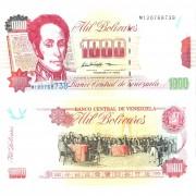 Венесуэла бона 1000 боливар 1998