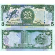 Тринидад и Тобаго бона 5 долларов 2006