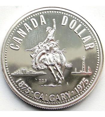 Канада 1975 1 доллар 100 лет Калгари