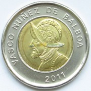 Панама 2011 1 бальбоа Васко Нуньеса де Бальбоа