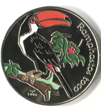 Куба 2006 1 песо Большой тукан