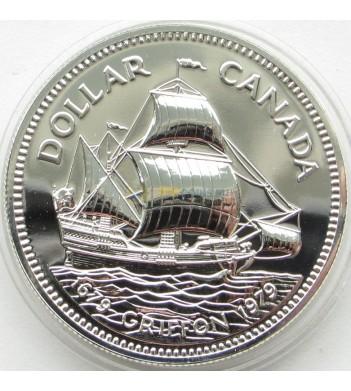 Канада 1979 1 доллар Гриффон корабль призрак