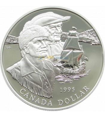 Канада 1995 1 доллар Компания Гудзонова залива proof