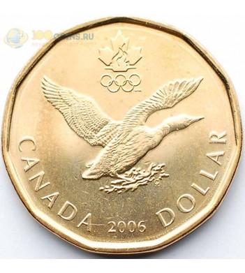 Канада 2006 1 доллар Олимпиада в Турине