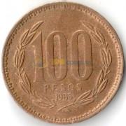 Чили 1981-2000 100 песо