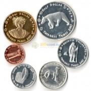 США 2017 набор 6 монет резервация Ирокезы