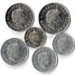 Восточные Карибы 2002-2015 набор 6 монет