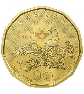 Канада 2016 1 доллар Олимпиада в Рио