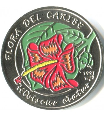 Куба 1997 1 песо Гибискус