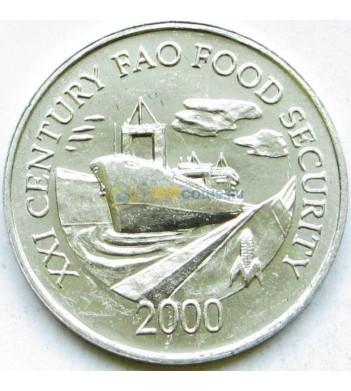 Панама 2000 1 сентесимо ФАО