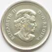 Канада 2011 25 центов Сапсан