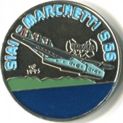 Куба 1995 1 песо Савойя Маркетти S-55