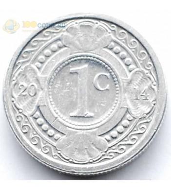 Нидерландские Антилы 2014 1 цент