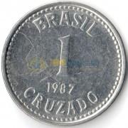Бразилия 1986-1988 1 крузадо