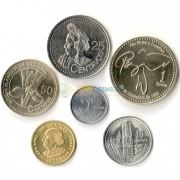 Гватемала 1991-2012 набор 6 монет