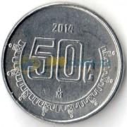 Мексика 2014 50 сентаво