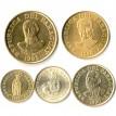 Парагвай 1990-1998 Набор 5 монет