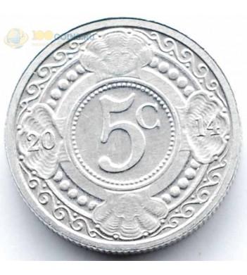 Нидерландские Антилы 2014 5 центов