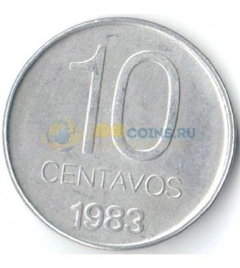 Аргентина 1983 10 сентаво