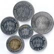 Боливия набор 6 монет 2017
