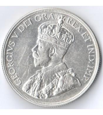 Канада 1936 1 доллар Каноэ (серебро)