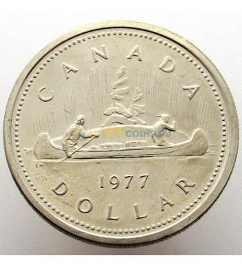 Канада 1977 1 доллар Каноэ