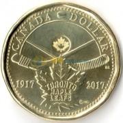 Канада 2017 1 доллар Хоккейный клуб Торонто