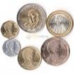 Чили 2006-2008 набор 6 монет