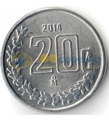 Мексика 2014 20 сентаво