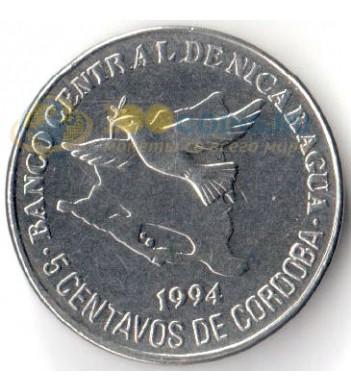 Никарагуа 1994 5 сентаво