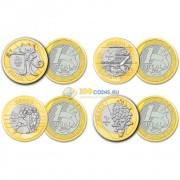 Бразилия 2016 Набор №4 Олимпиада в Рио 4 монеты