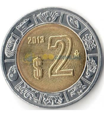 Мексика 2013 2 песо