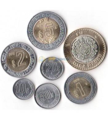 Мексика 2016 набор 7 монет