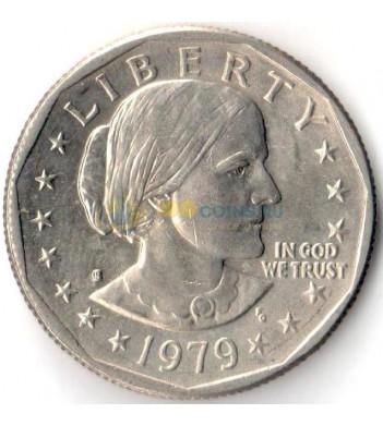 США 1979 1 доллар Сьюзен Энтони (S)